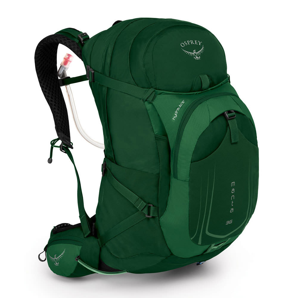 OSPREY Manta AG 36 Hydration Pack - SPRUCE GREEN