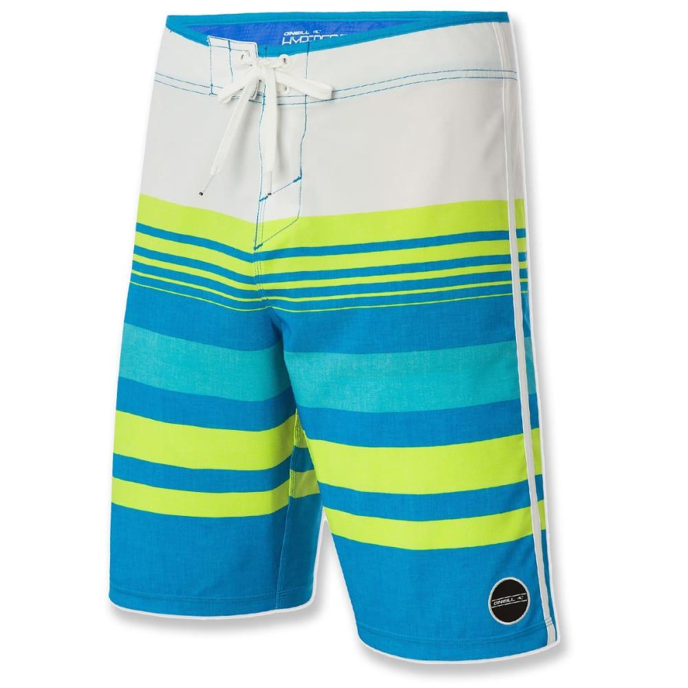 O'NEILL Guys' Hyperfreak Heist Boardshorts - BLUE-BRIGHT BLUE