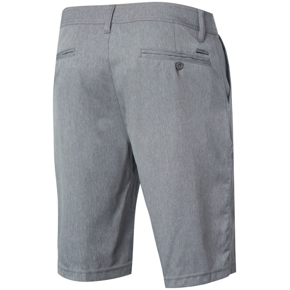O'NEILL Men's Loaded Texture Hybrid Boardshorts - GRY-GREY
