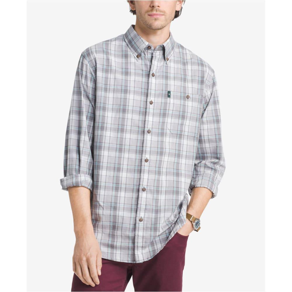 G.H. BASS & CO. Men's Madawaska Short-Sleeve Trail Shirt - ALLOY - 048