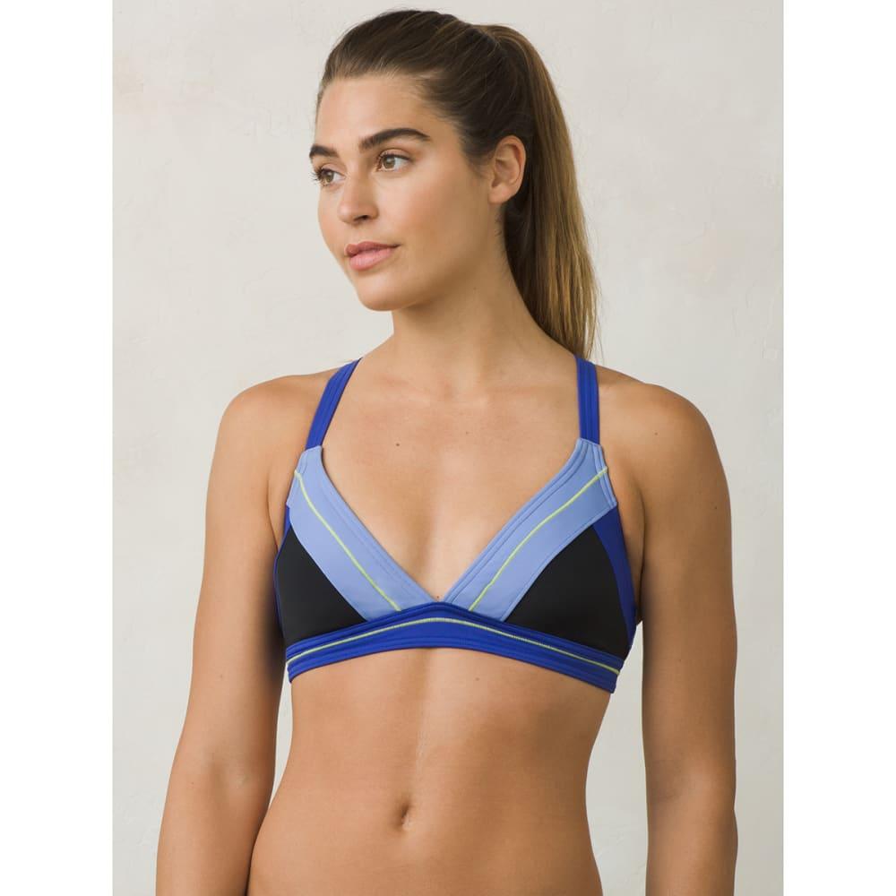 PRANA Women's Atla Bikini Top - BLK-BLACK