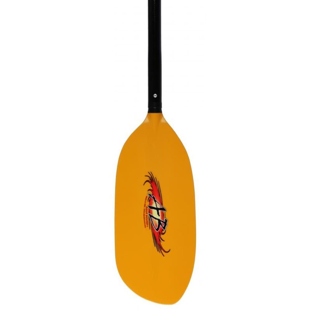 AQUA-BOUND Shred Fiberglass Kayak Paddle, 1-Piece - YELLOW