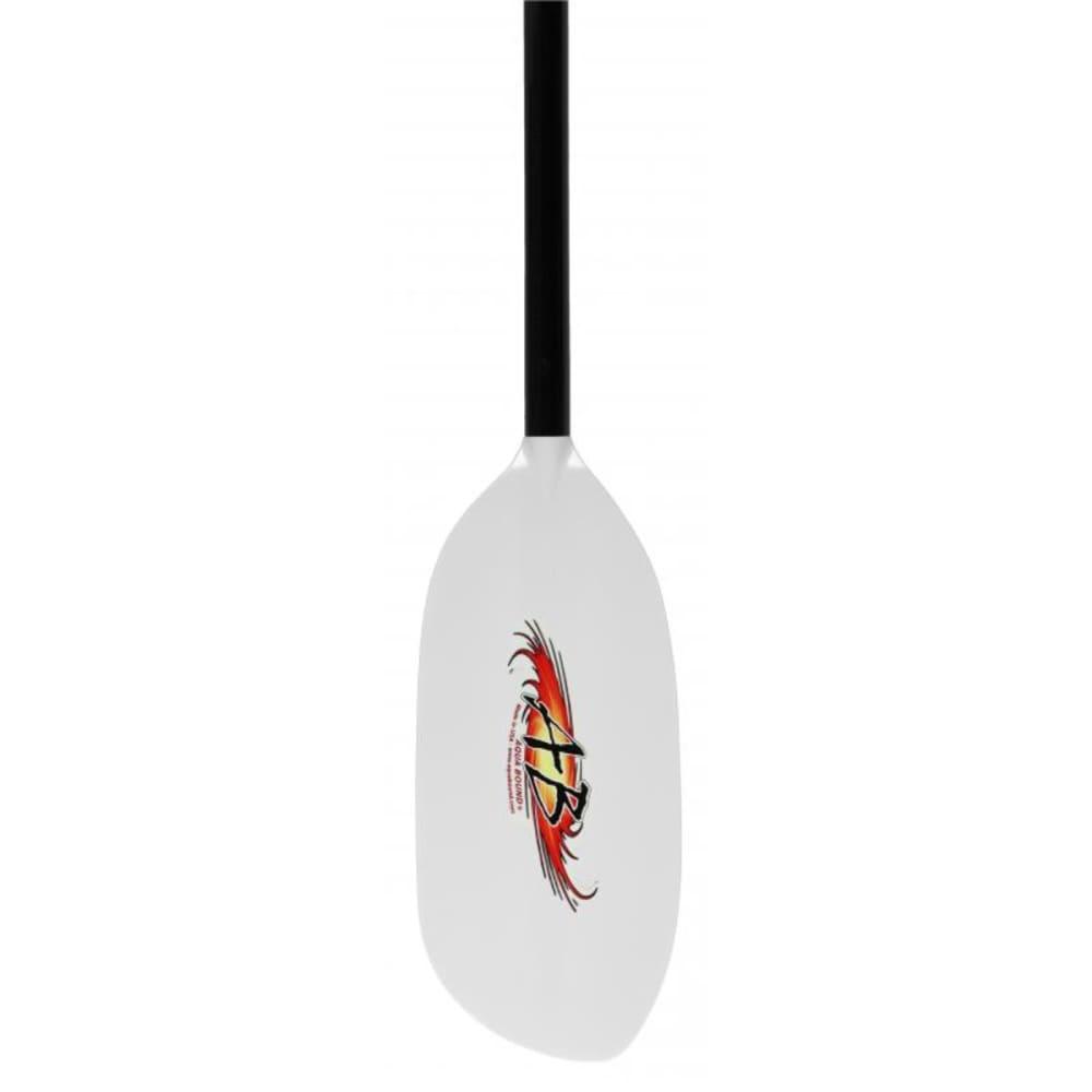 AQUA-BOUND Shred Hybrid Kayak Paddle, 4-Piece - WHITE