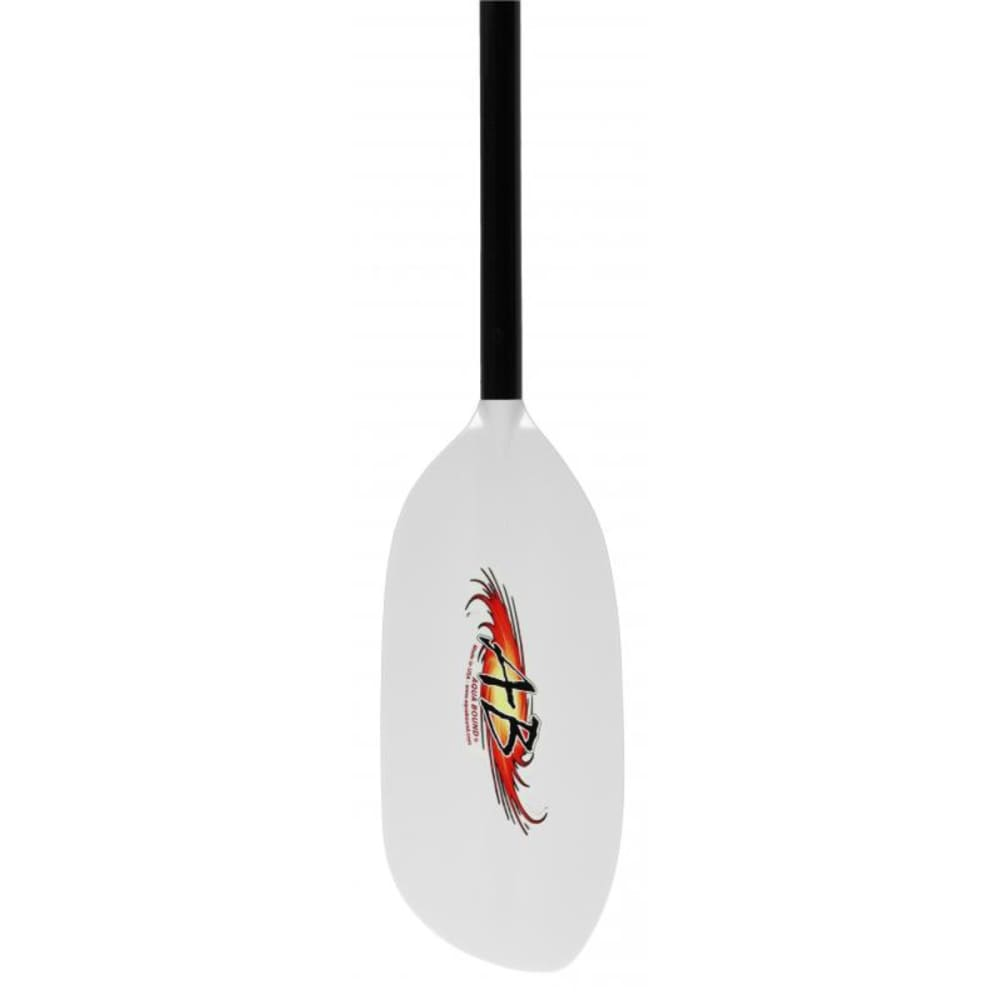 AQUA-BOUND Shred Hybrid Kayak Paddle, 1-Piece - WHITE