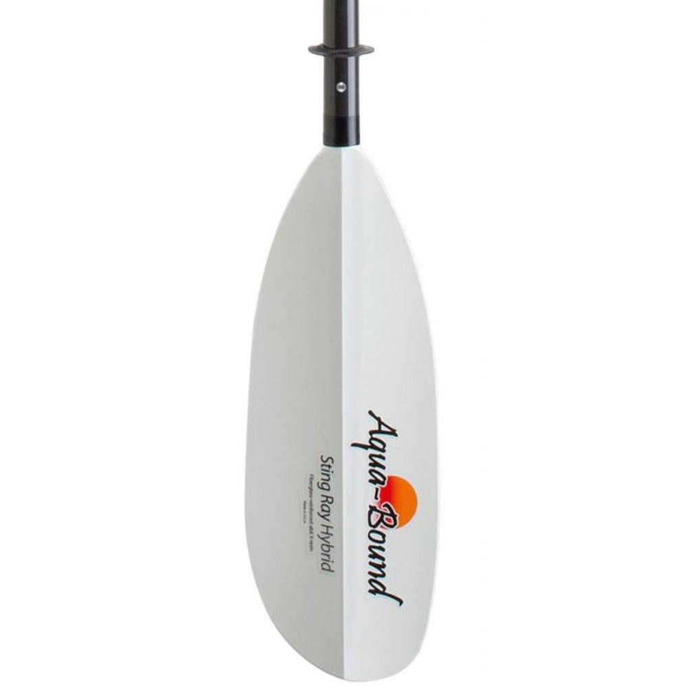 AQUA-BOUND Sting Ray Hybrid Kayak Paddle, 4-Piece, Posi-Lok - WHITE