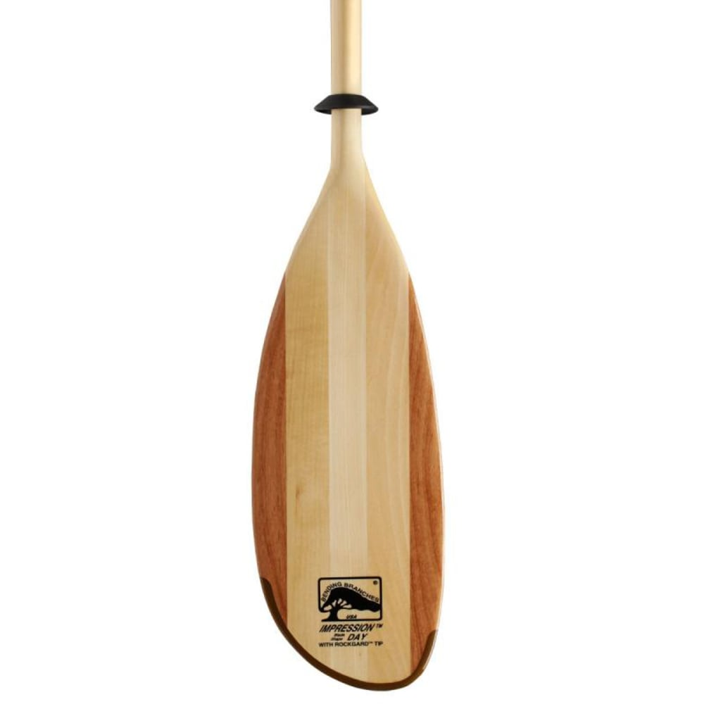 Bending Branches Impression Canoe Paddle, Snap-button - Brown
