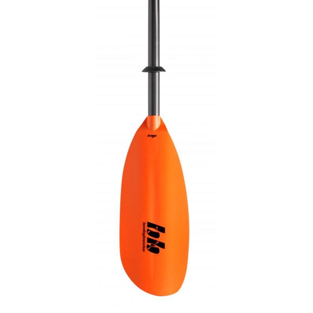 BENDING BRANCHES Slice Hybrid Kayak Paddle, Snap-Button - ORANGE