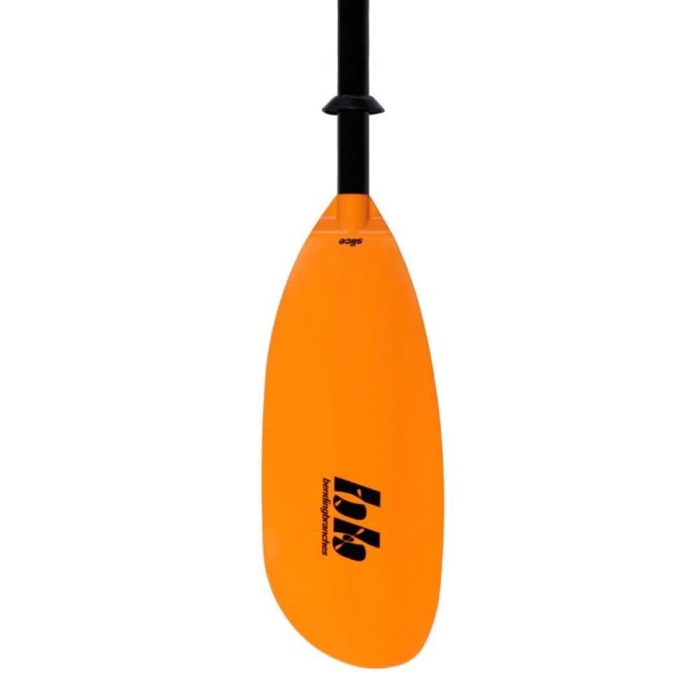 BENDING BRANCHES Slice Glass Kayak Paddle, Telescoping Ferrule - ORANGE