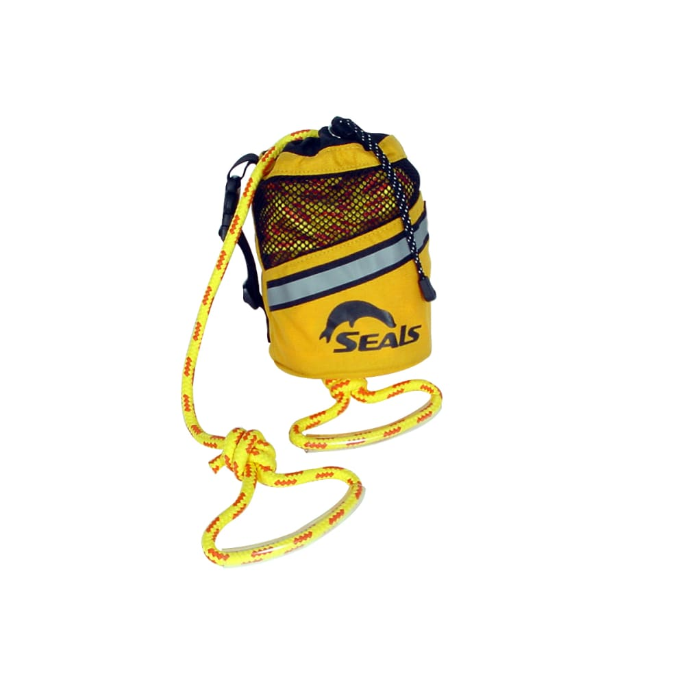 SEALS Rescue Throw Bag 75 ft - YELLOW