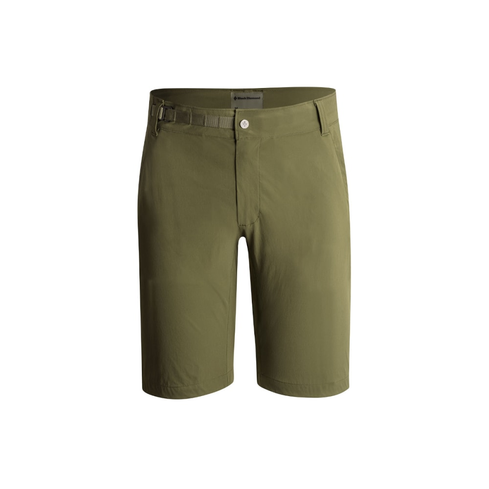 BLACK DIAMOND Men's Valley Shorts - BURNT OLIVE
