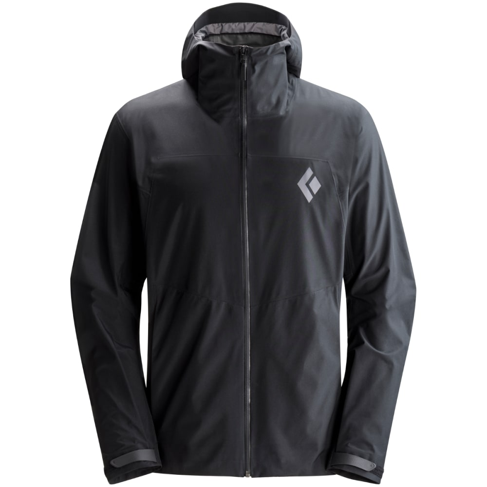 BLACK DIAMOND Men's Liquid Point Shell Jacket - BLACK