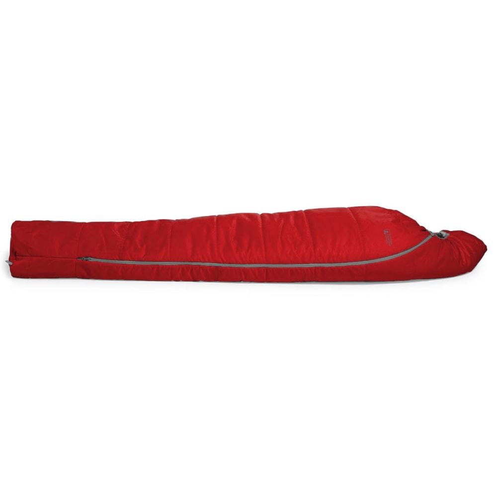 EMS Solstice 20° Sleeping Bag, Regular - CHILI PEPPER/PEWTER