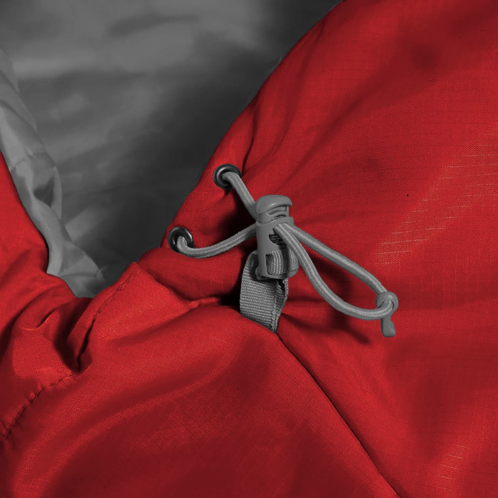 EMS® Solstice 20 Sleeping Bag, Regular - CHILI PEPPER/PEWTER
