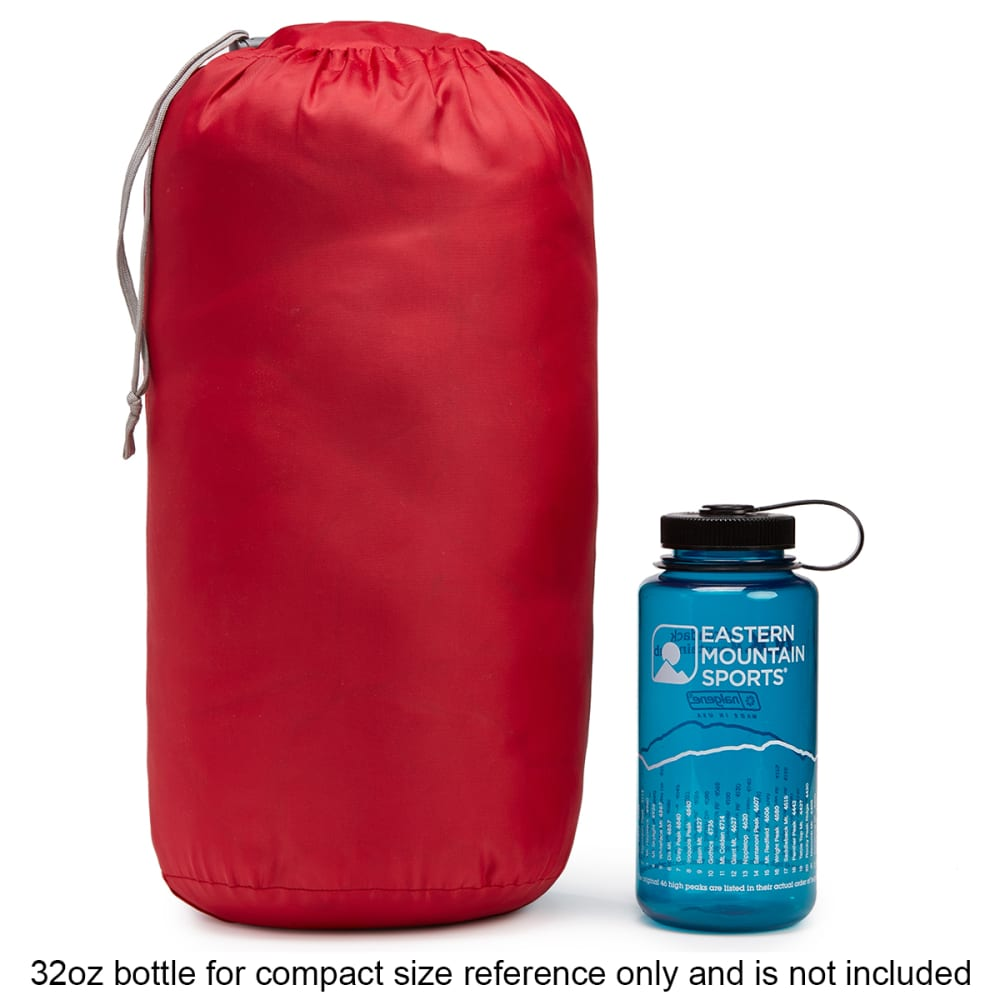 EMS Solstice 20° Sleeping Bag, Regular - CHILI PEPPER/F BRICK