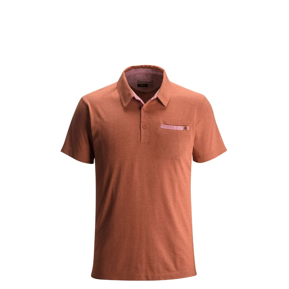 BLACK DIAMOND Men's Attitude Polo - RUST