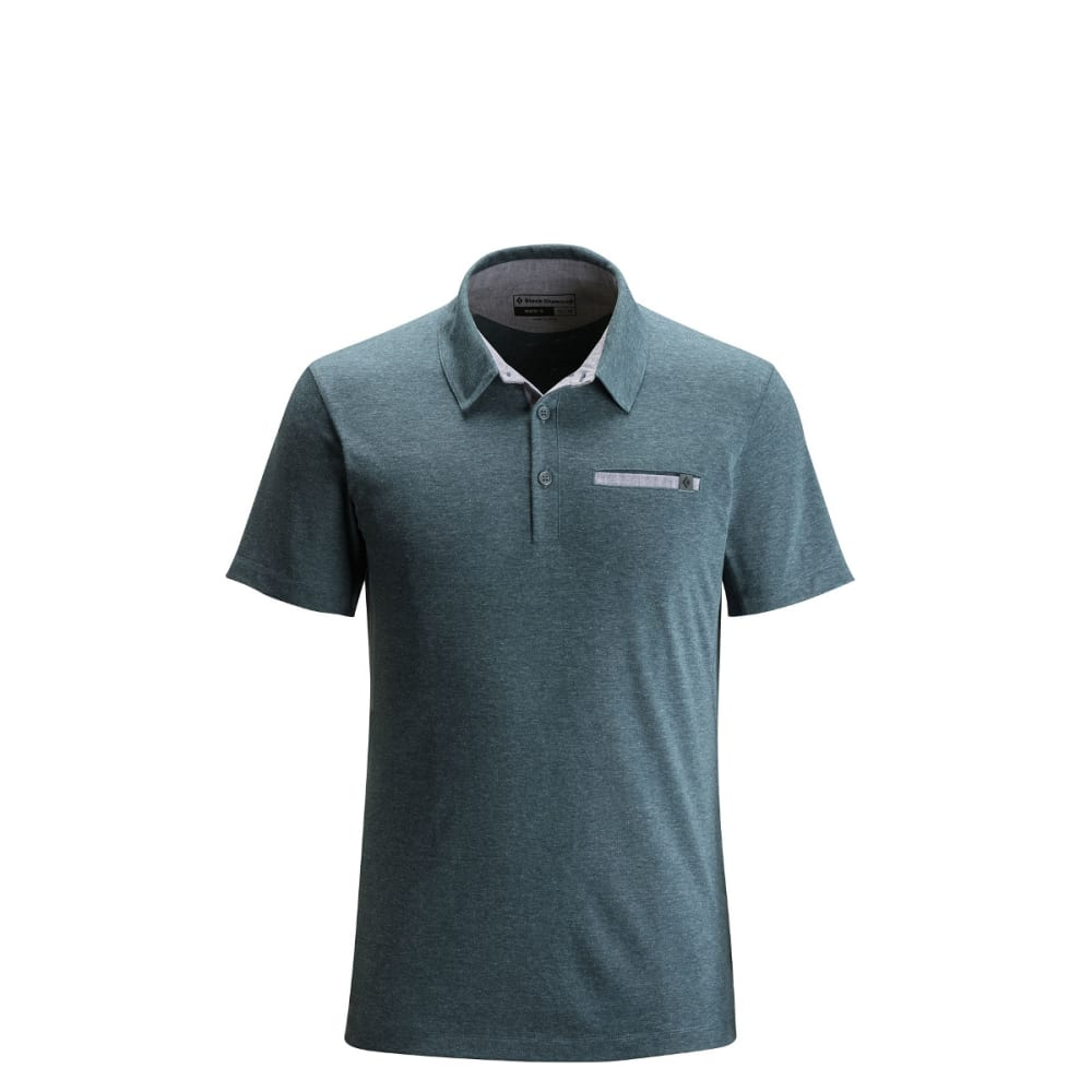 BLACK DIAMOND Men's Attitude Polo - ADRIATIC