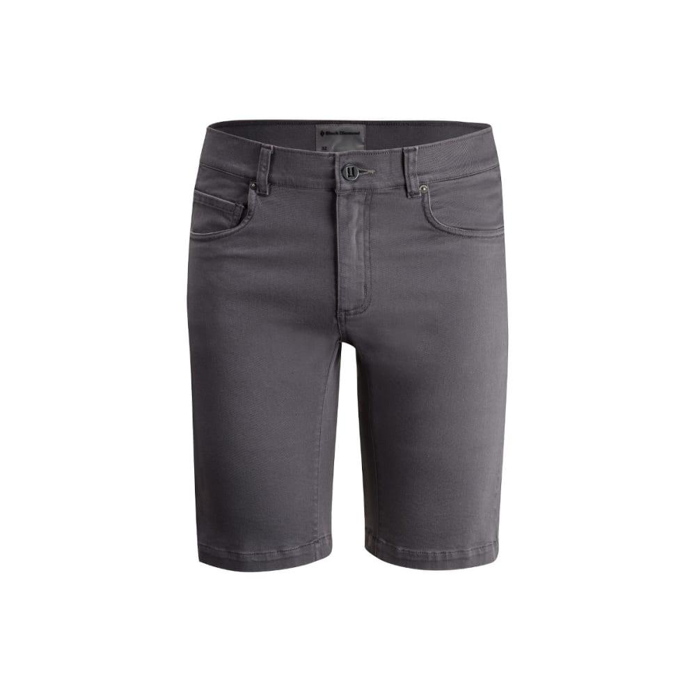 BLACK DIAMOND Men's Stretch Front Shorts - SLATE