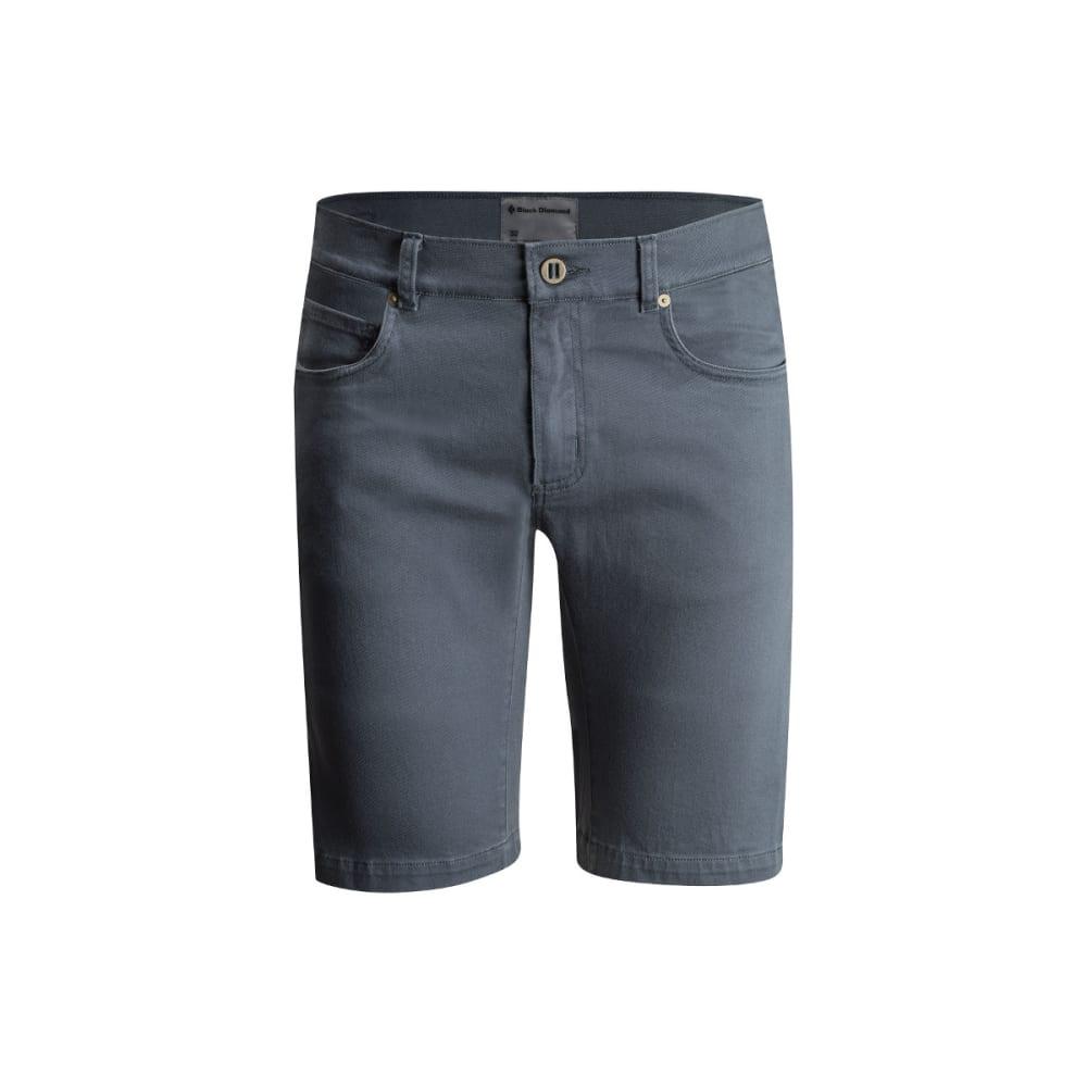 BLACK DIAMOND Men's Stretch Front Shorts - ADRIATIC