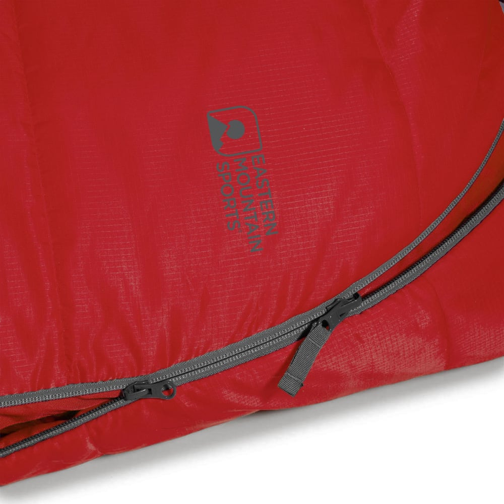 EMS® Solstice 20 Sleeping Bag, Long - CHILI PEPPER/PEWTER