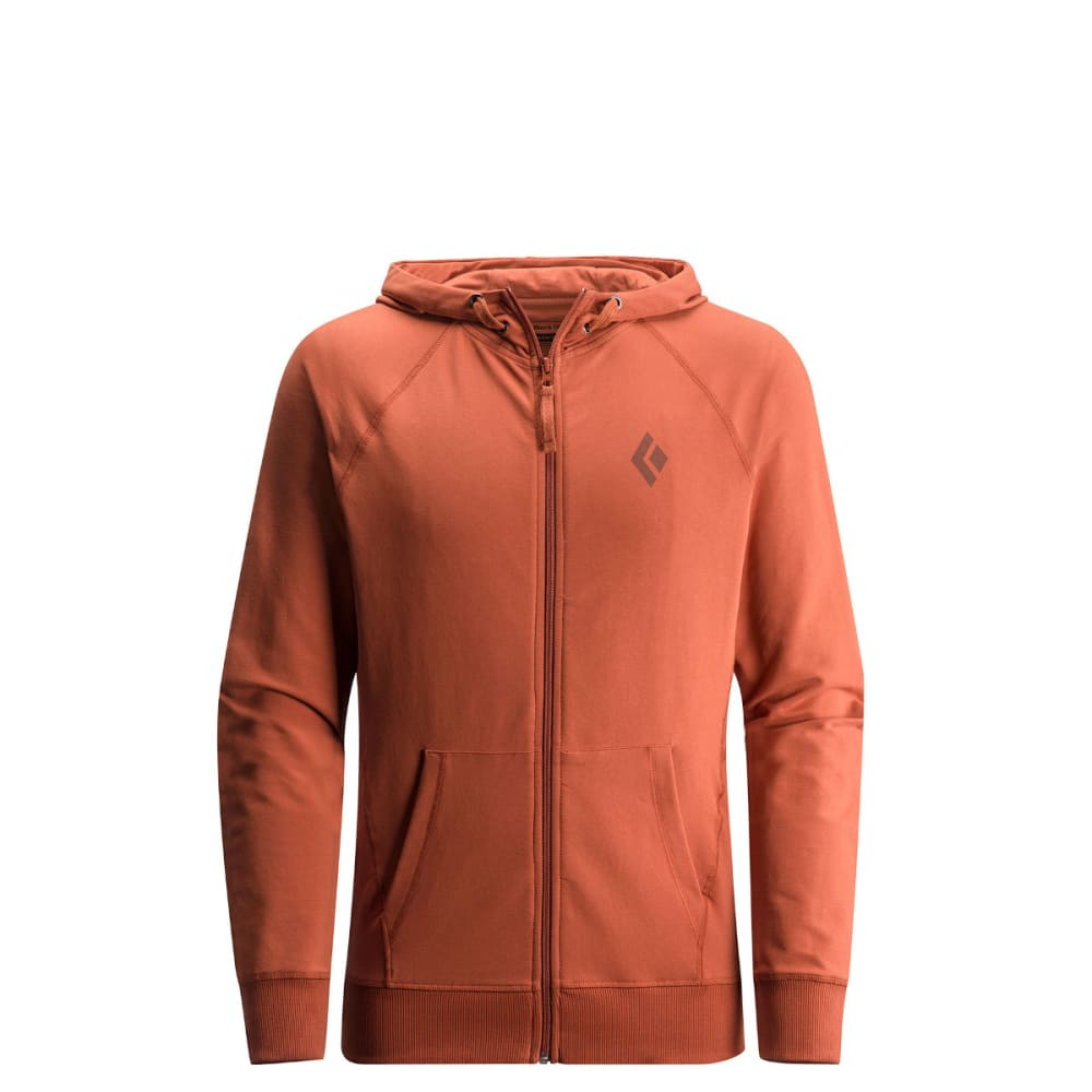 BLACK DIAMOND Men's Logo Hoody - RUST