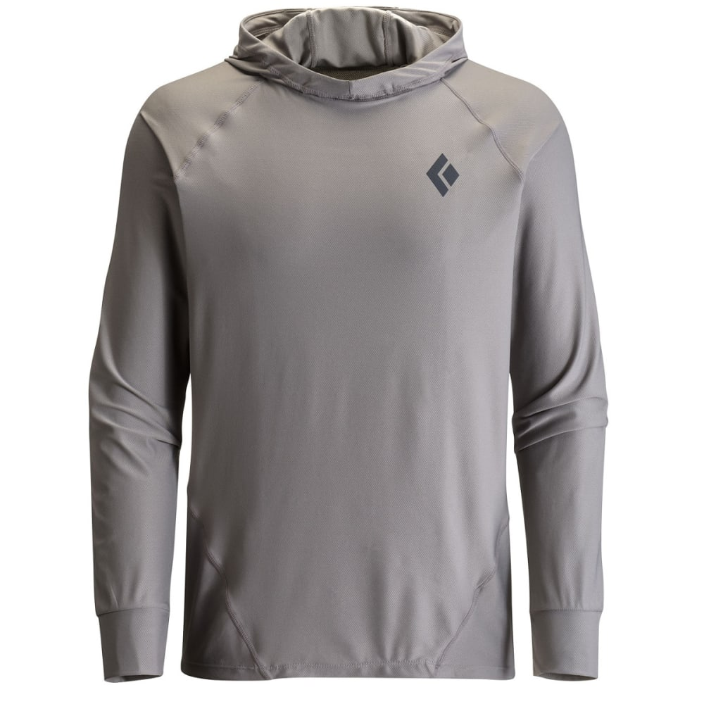 BLACK DIAMOND Men's Alpenglow Sun Hoody - NICKEL
