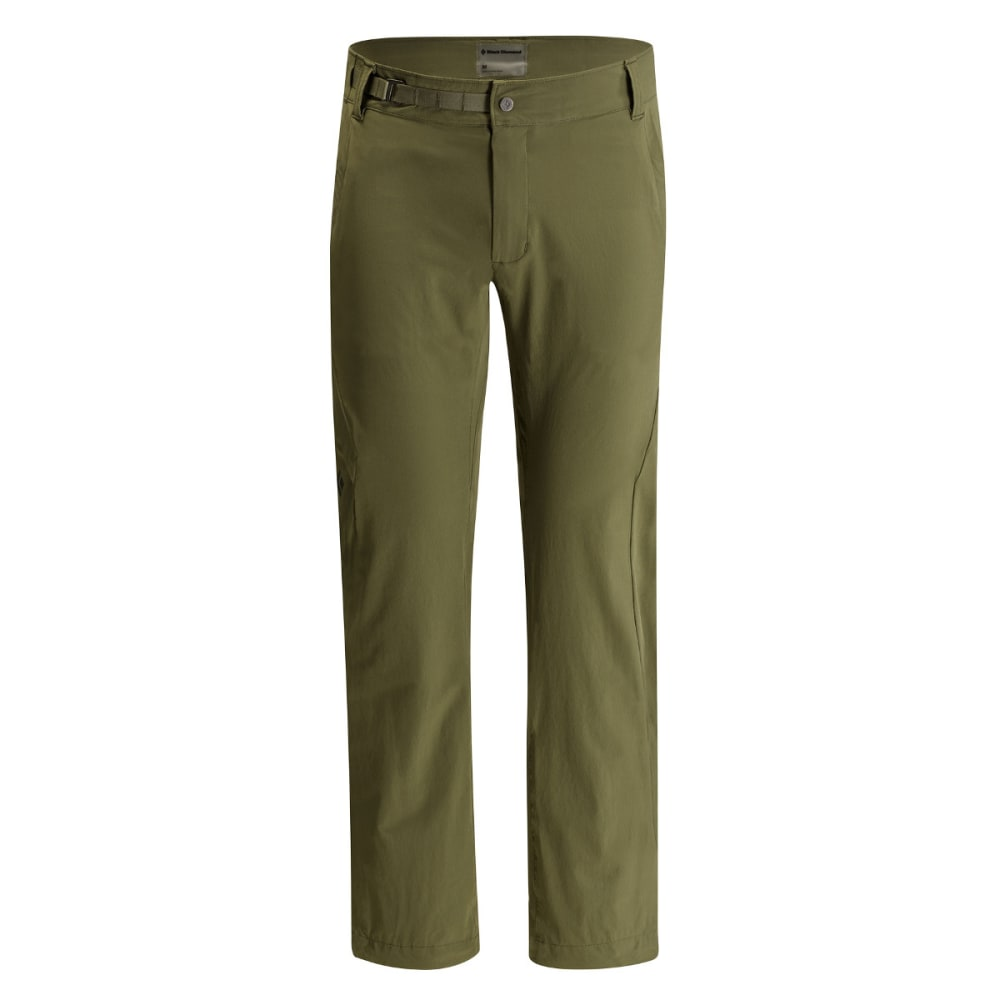 BLACK DIAMOND Men's Alpine Light Softshell Pants - BURNT OLIVE
