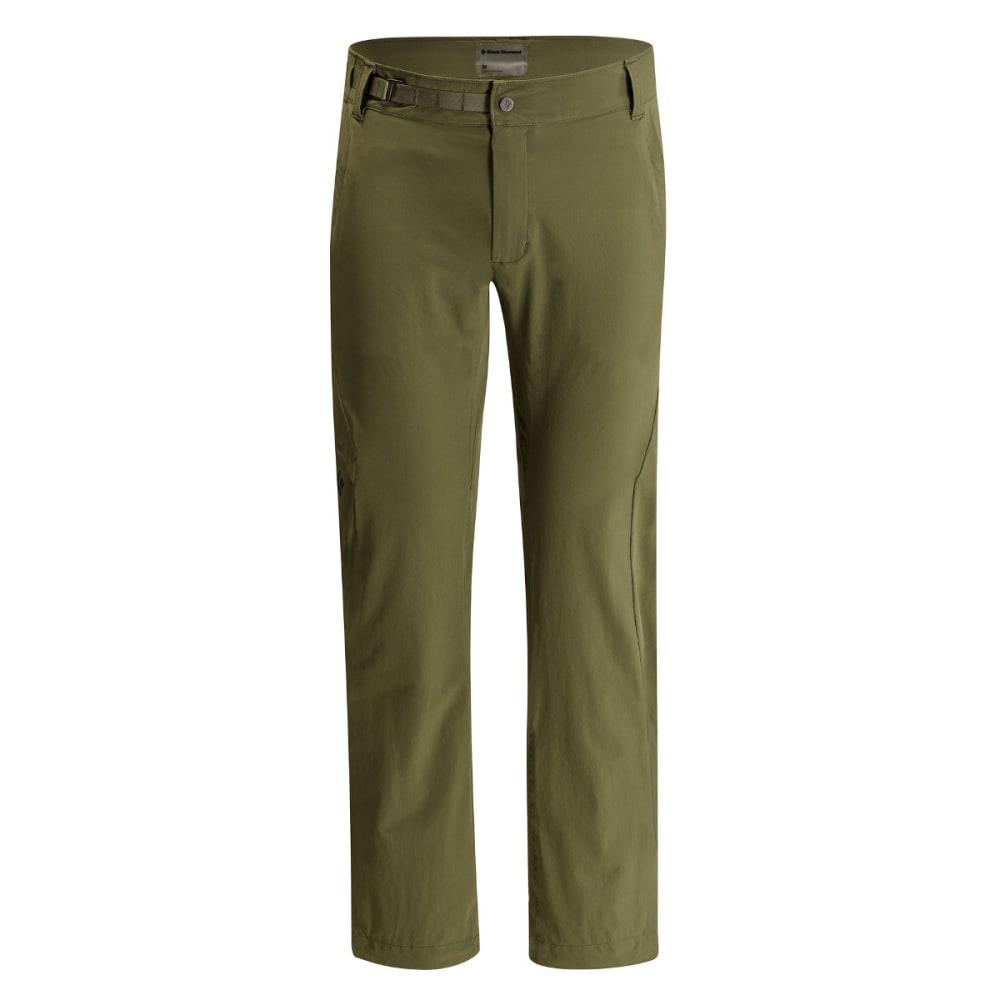 BLACK DIAMOND Men's Alpine Light Softshell Pants - BURNT OLIVE