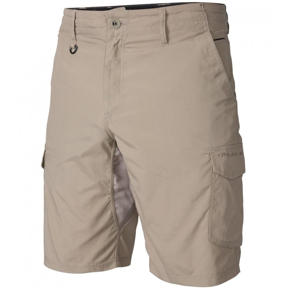 O'NEILL Guys' Traveler Cargo Hybrid Shorts - KHA-KHAKI