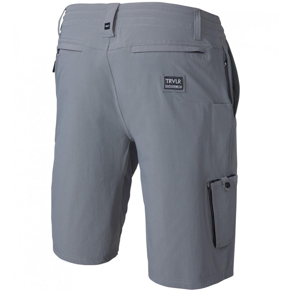 O'NEILL Men's Traveler Utility Hybrid Shorts - GRY-GREY