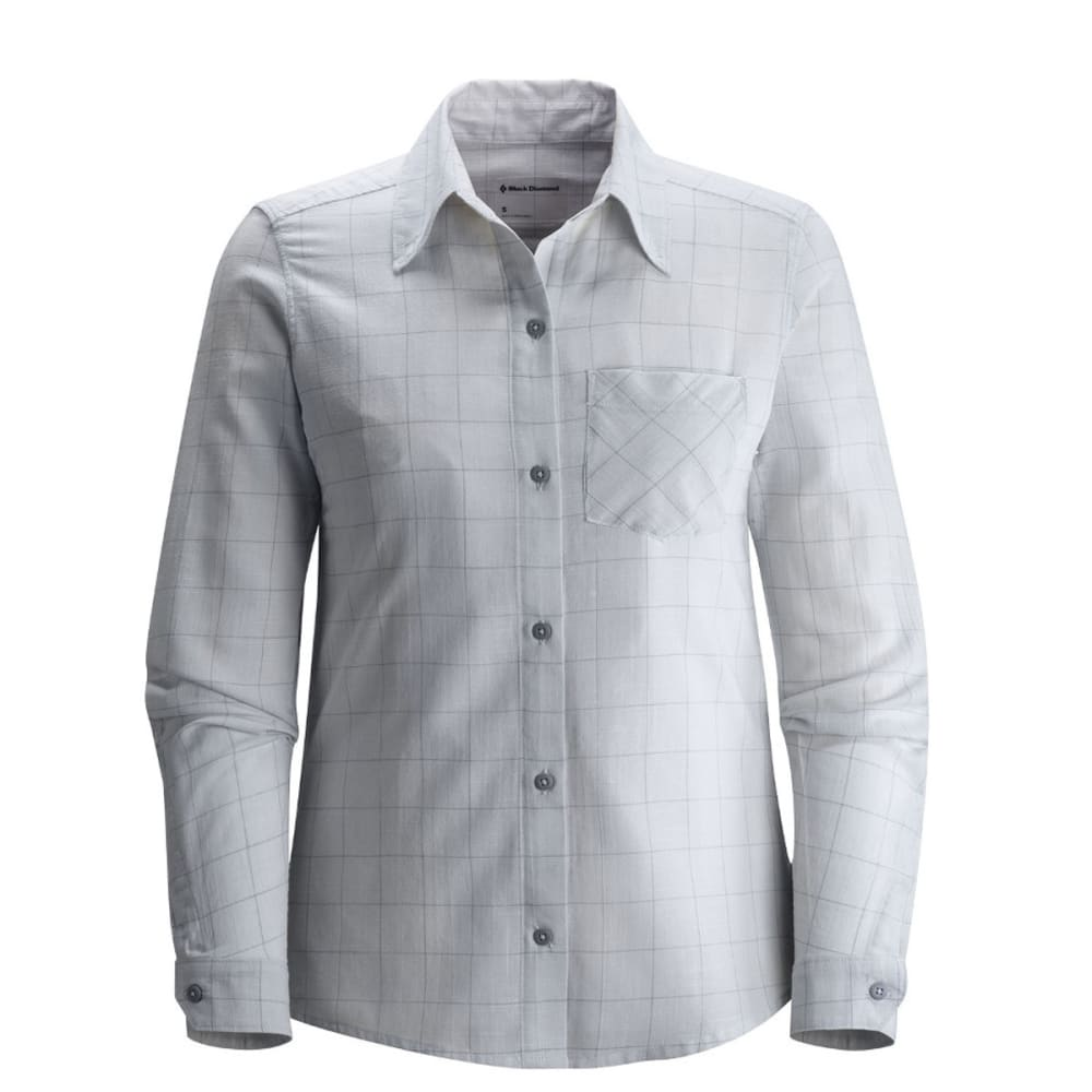 BLACK DIAMOND Women's Technician Shirt - ALUMINUM/NICKEL