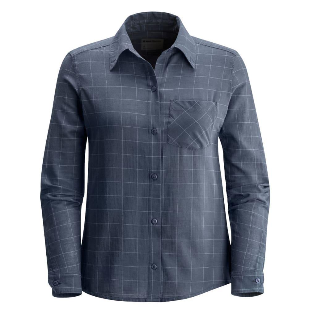 BLACK DIAMOND Women's Technician Shirt - DARK ADRIATIC/CASPIA