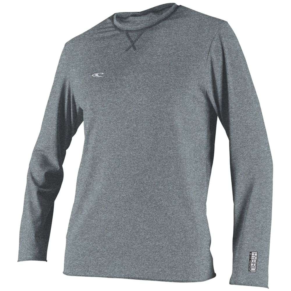 O'NEILL Men's Long-Sleeve Hybrid Surf Tee - 271-COOL GREY