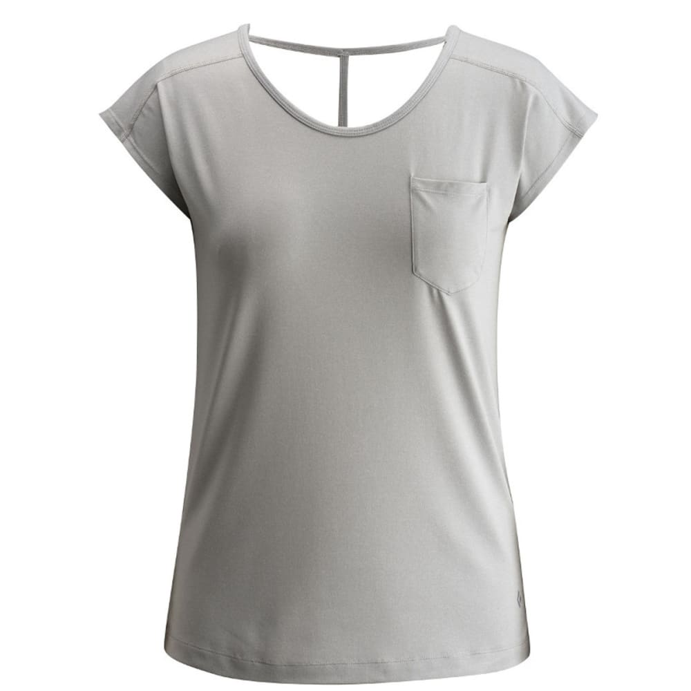 BLACK DIAMOND Women's Beta Tee - ALUMINUM