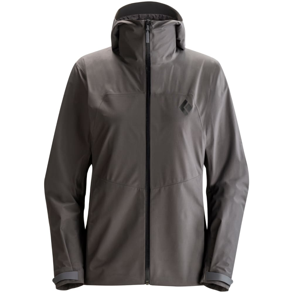 BLACK DIAMOND Women's Liquid Point Shell Jacket - SLATE