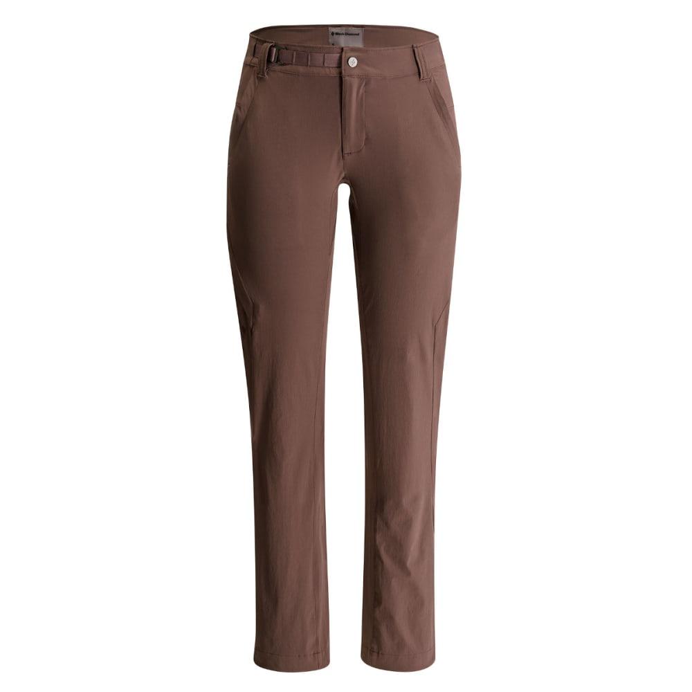 Black Diamond Women's Alpine Light Softshell Pants - SANDALWOOD