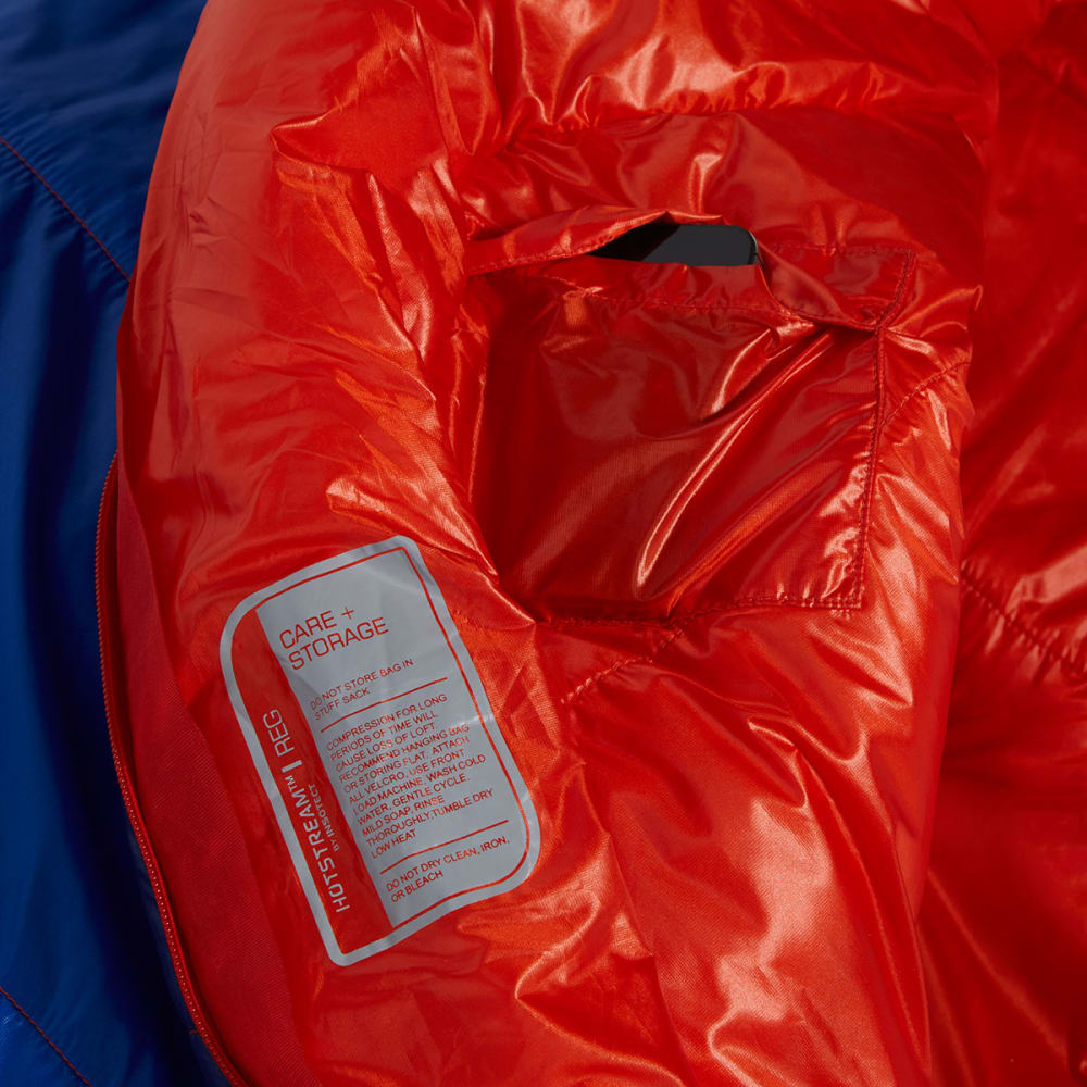 Ems Velocity 35 Degree Mummy Sleeping Bag Long Surf Web Blue Depths