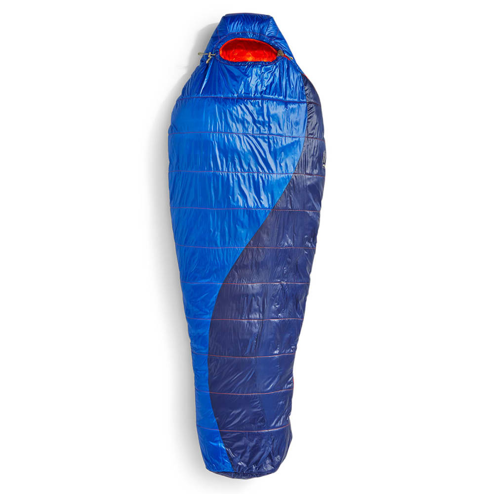 EMS Velocity 35 Degree Mummy Sleeping Bag, Long - SURF WEB/BLUE DEPTHS