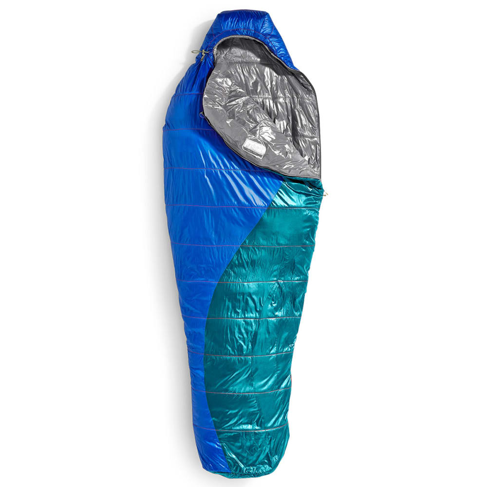 EMS® Women's Velocity 35 Degree Mummy Sleeping Bag  - SURF WEB/EVERGLADE