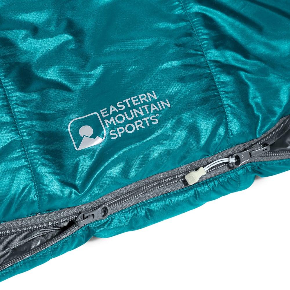 EMS Women's Velocity 35 Degree Mummy Sleeping Bag - SURF WEB/EVERGLADE