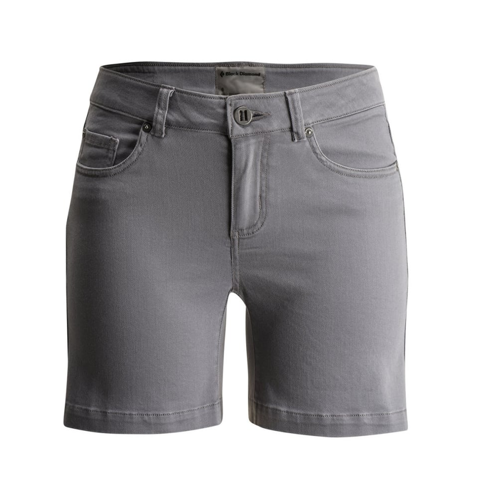 BLACK DIAMOND Women's Stretch Front Shorts - ASH