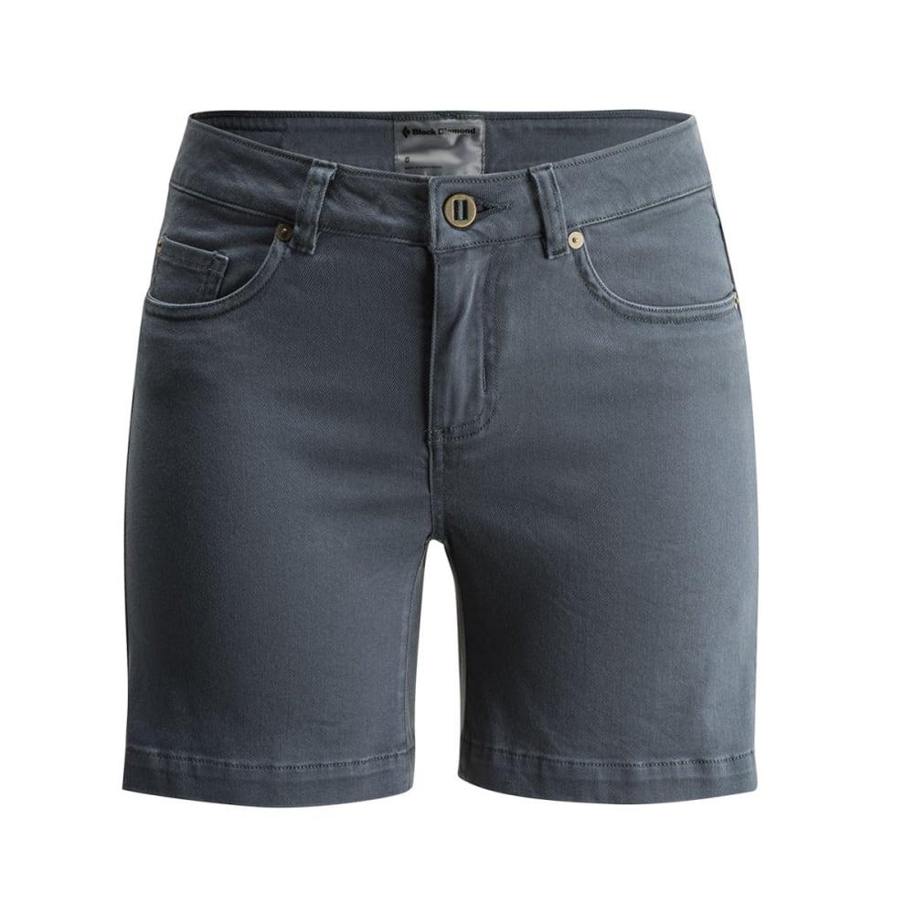 BLACK DIAMOND Women's Stretch Front Shorts - ADRIATIC