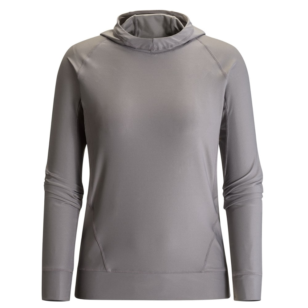 BLACK DIAMOND Women's Alpenglow Sun Hoody - NICKEL