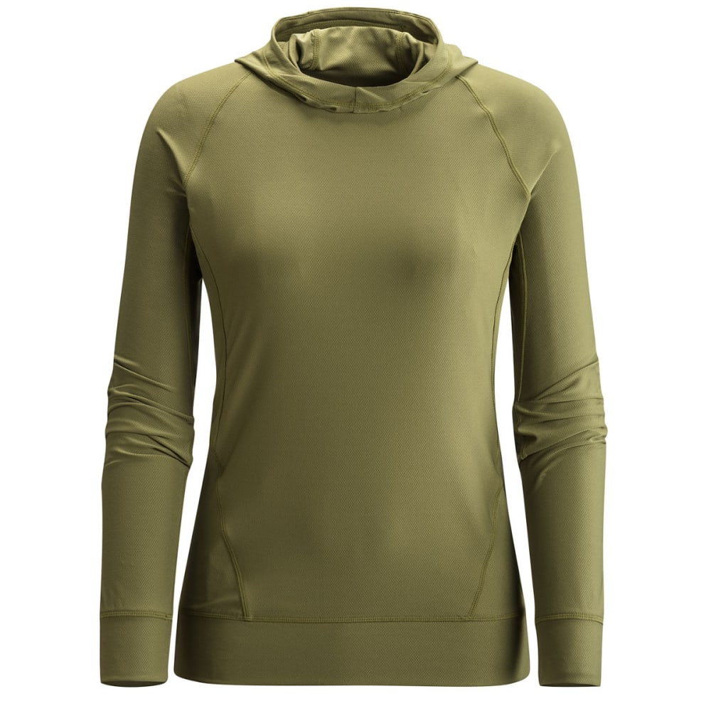 BLACK DIAMOND Women's Alpenglown Sun Hoody - BURNT OLIVE