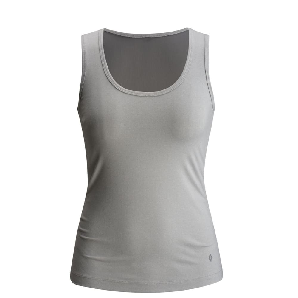 BLACK DIAMOND Women's Interval Tank Top - ALUMINUM