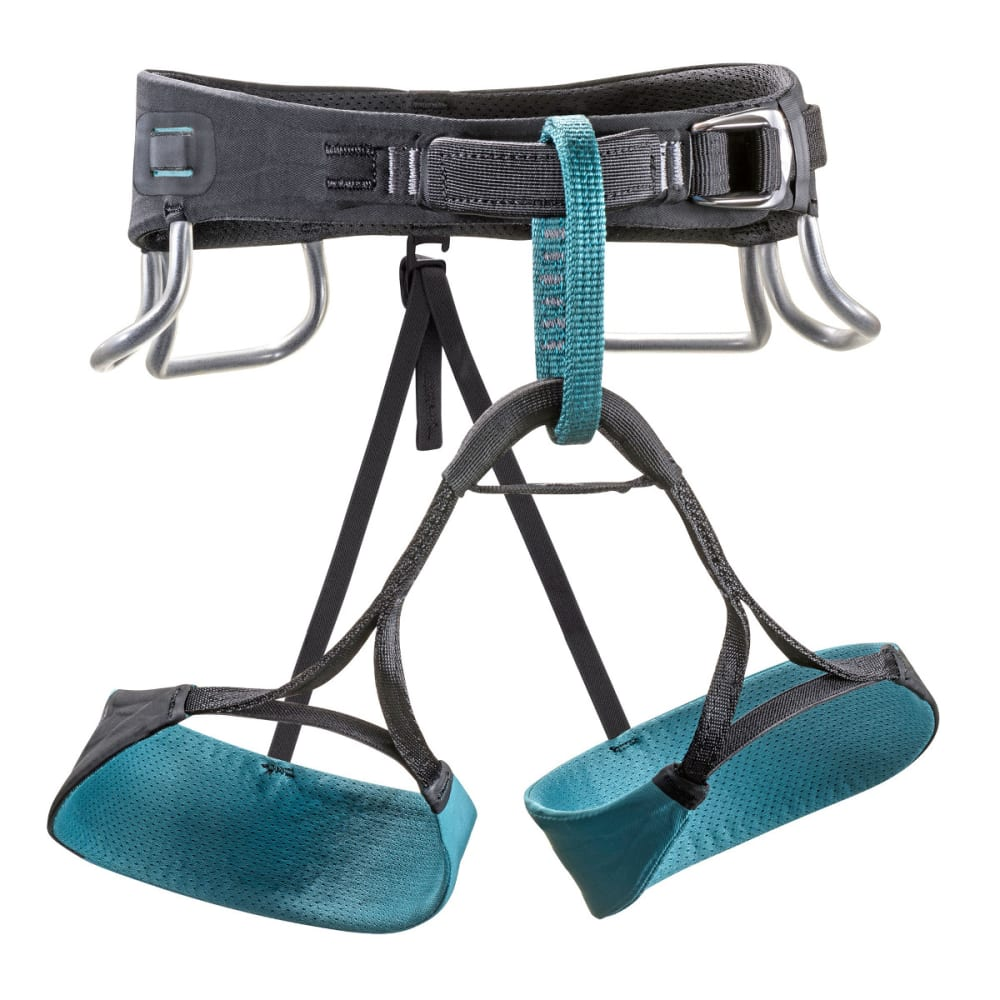BLACK DIAMOND Women's Zone Harness - DARK CASPIAN/BLACK
