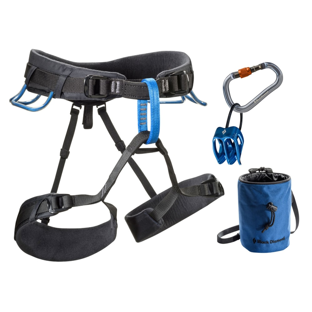 BLACK DIAMOND Momentum DS Harness Package - SMOKE/POWELL