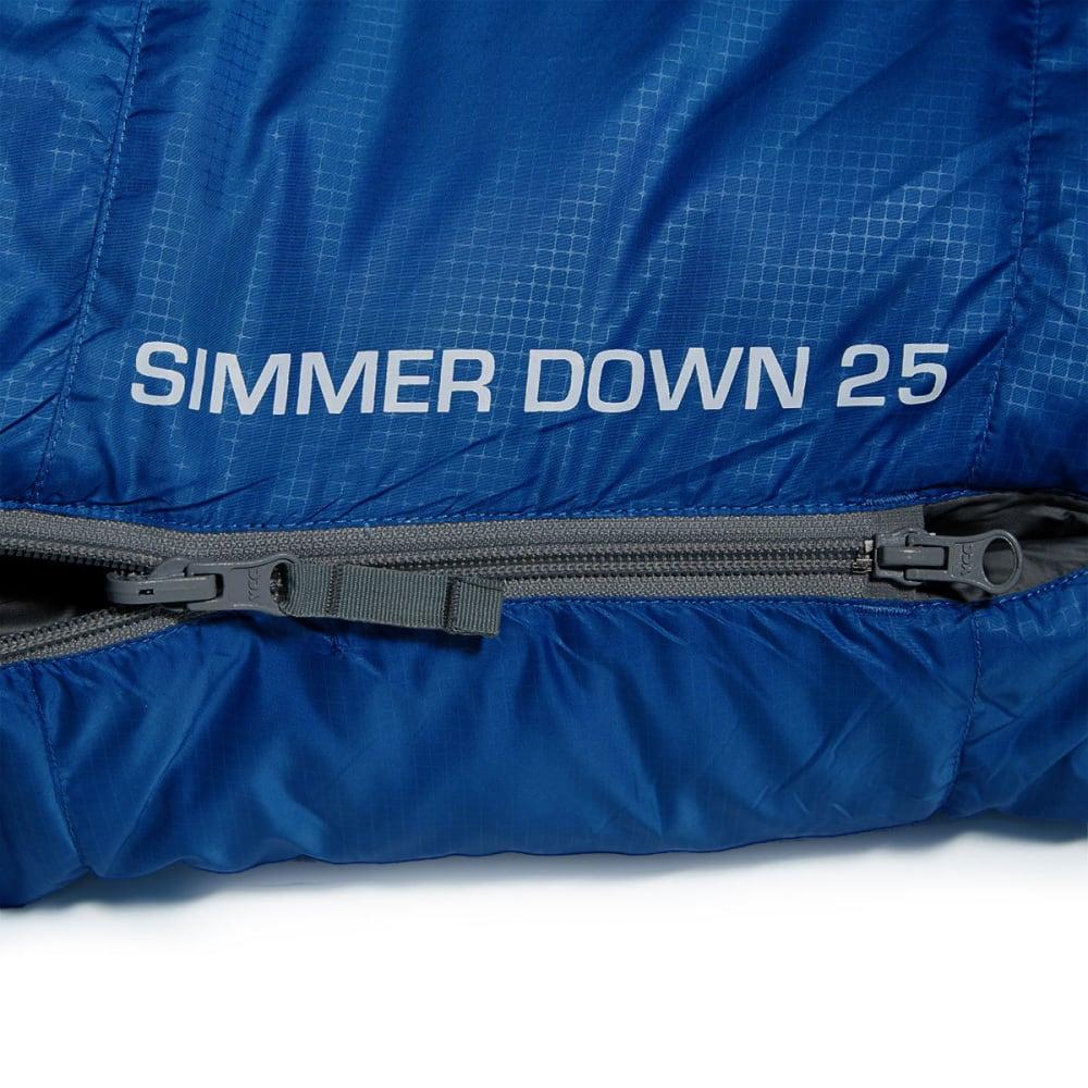 EMS® Simmer Down 25° Sleeping Bag - LAPIS/PEWTER