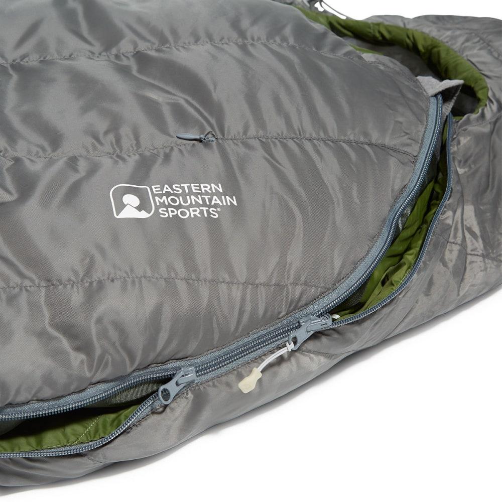 EMS Mountain Light 20 Sleeping Bag, Regular - PEWTER/CHIVE