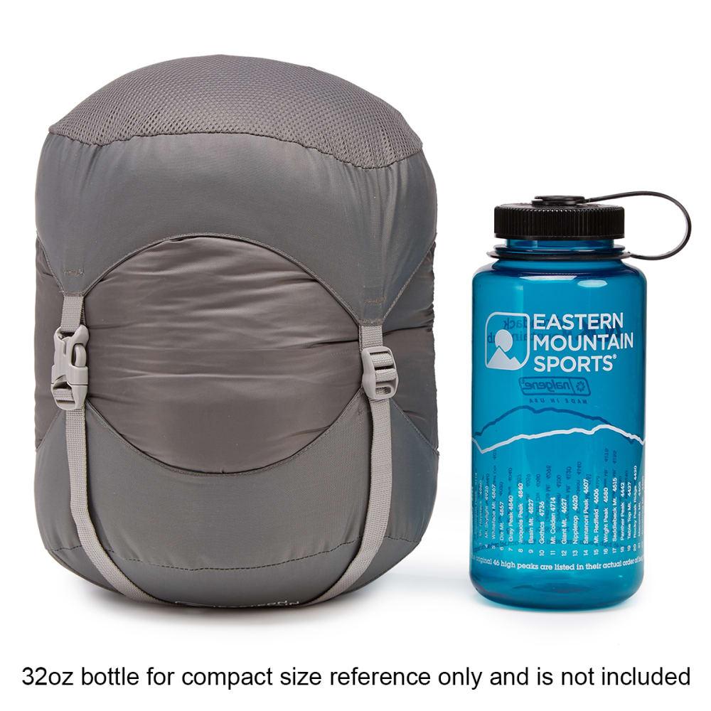 EMS Mountain Light 20 Sleeping Bag, Long - PEWTER/CHIVE