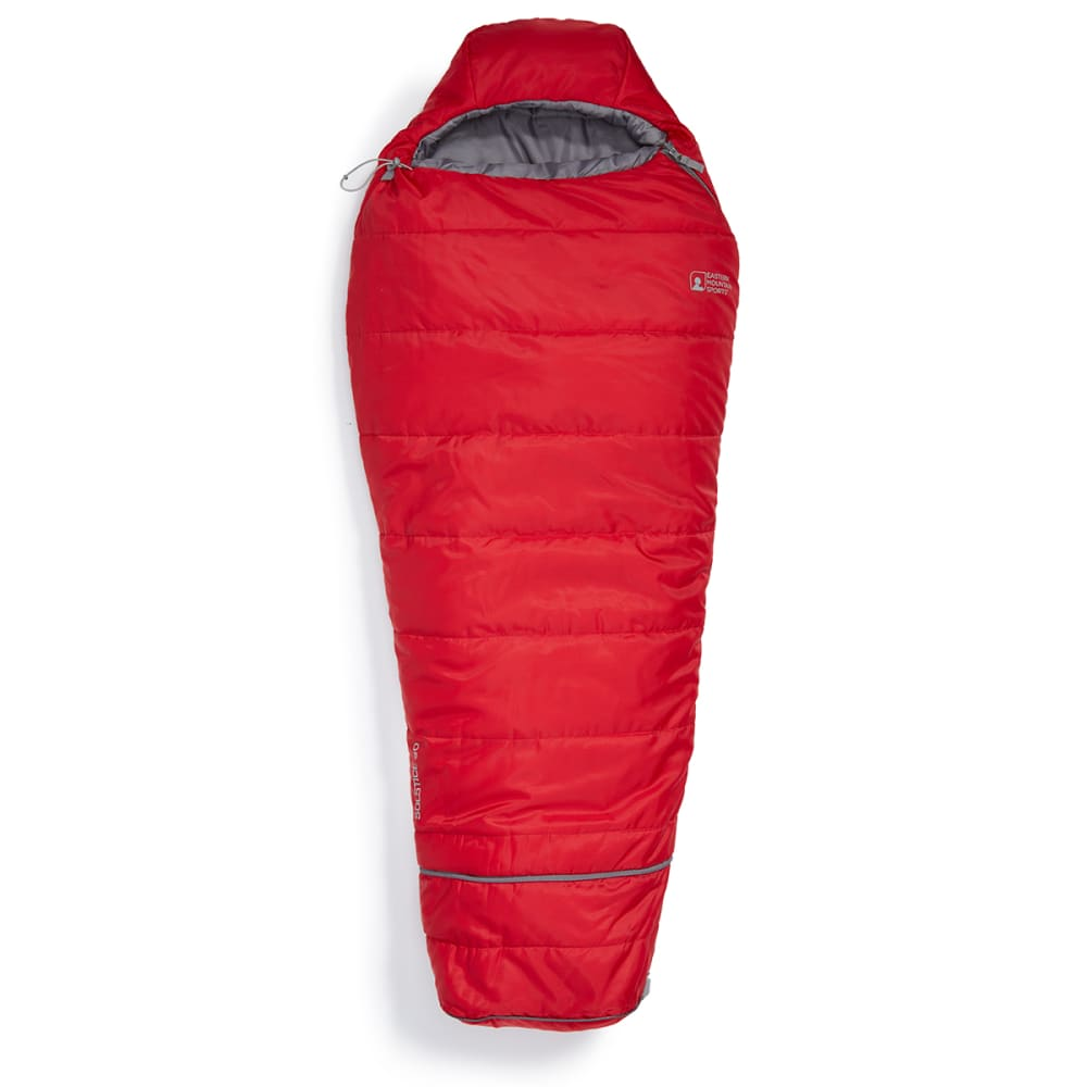 EMS Junior Solstice 20° Sleeping Bag - CHILI PEPPER/PEWTER